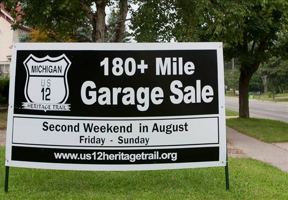 US 12 Garage Sale 2nd weekend in August